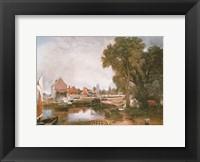 Mill at Dedham Fine Art Print