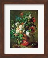 Flowers in an Urn Fine Art Print