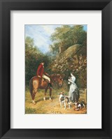 Visit to the Kennels Fine Art Print