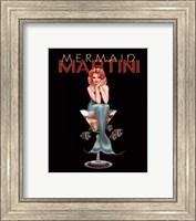 Mermaid Martini Fine Art Print