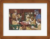 His Station And Four Aces Fine Art Print