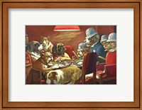 Pinched With Four Aces Fine Art Print