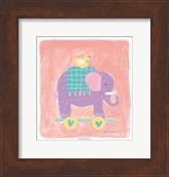 Elephant Toy Fine Art Print