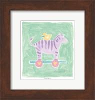 Zebra Toy Fine Art Print
