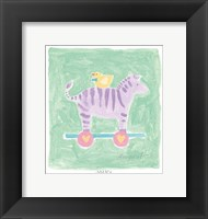 Zebra Toy Fine Art Print