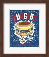 Burgers Fine Art Print