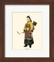 Chinese Mandarin Figure VII Fine Art Print