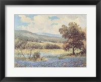 Fields of Blue Fine Art Print