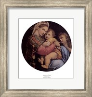 Madonna of the Chair Fine Art Print
