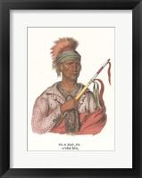 Ne-O-Mon-Ne, an Ioway Chief Fine Art Print