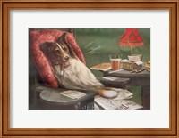 A Bachelor's Dog Fine Art Print