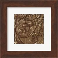 Copper Leaf Frieze Fine Art Print