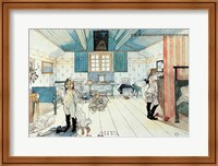 The Room of Mammy and the Small Girls Fine Art Print
