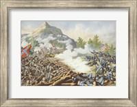 Battle of Kenesaw Mountain Fine Art Print