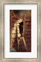 Bookworm Fine Art Print