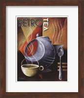 Retro Tea Fine Art Print