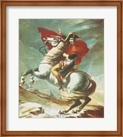 Bonaparte at Mont St. Bernard Fine Art Print