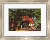 Horse and Buggy Days Fine Art Print