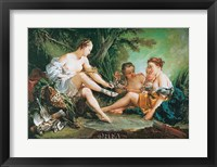 Diana Resting after the Hunt Fine Art Print