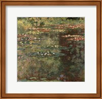 Pool with Waterlilies, 1904 Fine Art Print