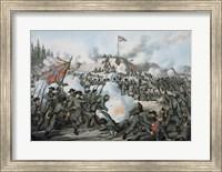 Assault on Fort Sanders Fine Art Print