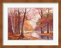 Autumn Glade Fine Art Print