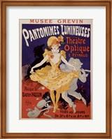 Pantomimes Lumineuses Fine Art Print