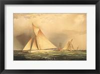 Puritan & Priscilla off Sandy Hook Fine Art Print