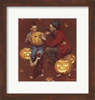 Ghostly Gourds Fine Art Print