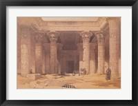 Grand Portico of the Temple of Philae Fine Art Print