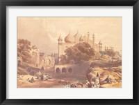 Jama Musjia Agra Fine Art Print