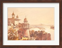 Palace and Fort at Agra Fine Art Print