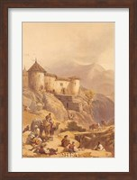 Hill Fort of Ghulab Sinj Fine Art Print