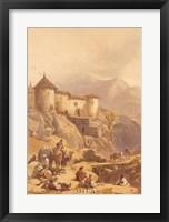 Hill Fort of Ghulab Sinj Fine Art Print