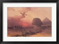 Approach of the Simoon, Desert of Gizeh Fine Art Print