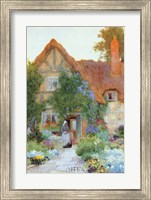 Outside the Cottage Fine Art Print