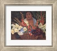 Flower Seller Fine Art Print
