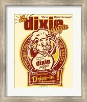 Dixie Piggie Drive-In Fine Art Print