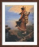 Return of the War Canoes Fine Art Print