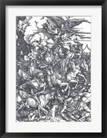 Four Horsemen of the Apocalypse Fine Art Print