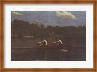 Biglin Brothers Racing Fine Art Print