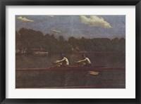 Biglin Brothers Racing Fine Art Print