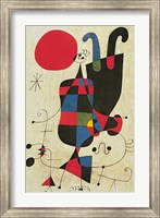 Inverted Personages Fine Art Print