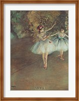 Two Dancers Fine Art Print