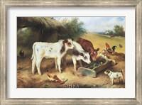 Farmyard Friends, 1920 Fine Art Print