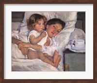 Breakfast in Bed Fine Art Print