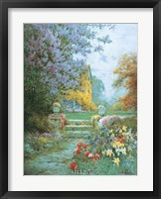 Lilacs & Iris Fine Art Print
