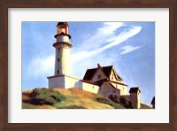 Lighthouse at Two Lights Fine Art Print