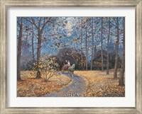 A Ride in Autumn Fine Art Print