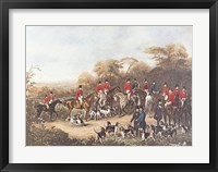 The Bury Hunt Fine Art Print